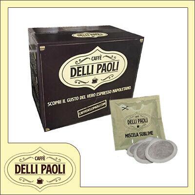 Caffè Delli Paoli 150 ESE Dosettes de papier filtre 44 mm Mélange Napoli crémeux Sublime