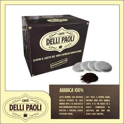 Caffè Delli Paoli box 600 ESE 44mm dosettes filtre en papier Arabica blend (or)