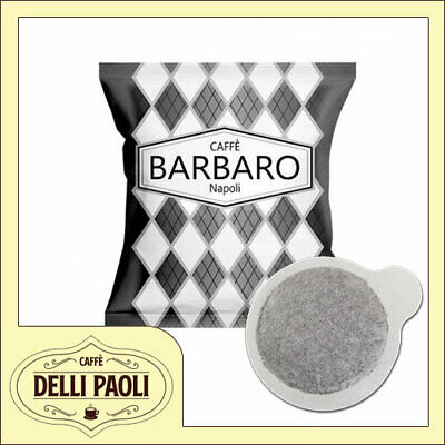 150 dosettes de papier filtre ese 44 mm Caffè Barbaro Creamy Napoli Black blend