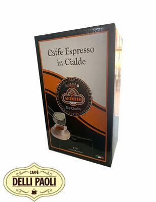 150 dosettes ese 44mm papier filtre Seddio café mélange intense intense