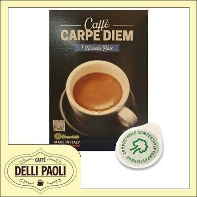 150 dosettes compostables ese 44mm Caffè CARPE DIEM by Toraldo BLU Blend
