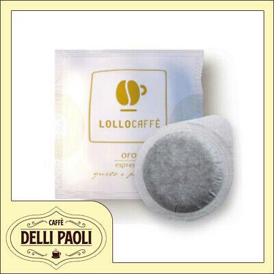 450 dosettes de filtre en papier ESE 44 mm Lollo coffee gold blend