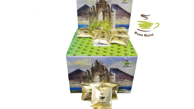 PUROKAFFE '150 dosettes de café ESE 44mm KREMOSO blend - EUR 20,50