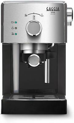 Gaggia Viva Deluxe Machine à café expresso manuelle dosettes + moulu Ri8435 / 11