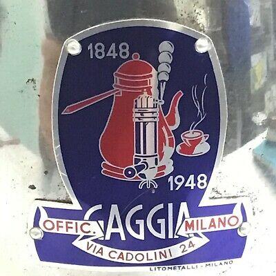 TOP LEVIER DE MACHINE À CAFÉ CENTENAIRE GAGGIA ANNÉES 40/50 INCOMPLÈTES la pavoni