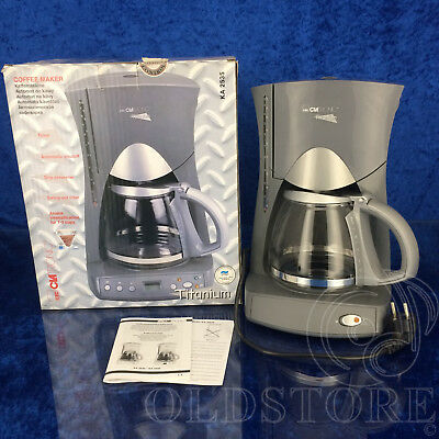 ►Clatronic Ka 2535◄ Machine à café Titane Cafetière Kaffeeautomat 230 V