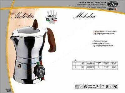 CAFETERIA MELODIA 3 tasses. café arôme goût élégant cafetière