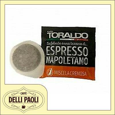 150 dosettes de papier filtre ESE 44 mm Mélange crémeux et crémeux de café Toraldo
