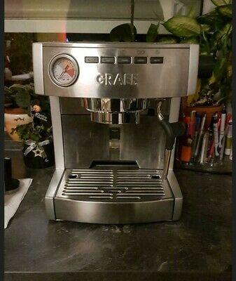 GRAEF ES85 Siebträgermaschine / Espressomaschine