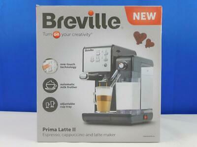 Breville Prima Latte II Kaffeemaschine Espressomaschine Kaffeevollautomat Schwa