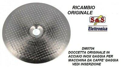 Dm0704 Pommeau de douche original pour machine à café Gaggia Carezza, argent, bébé