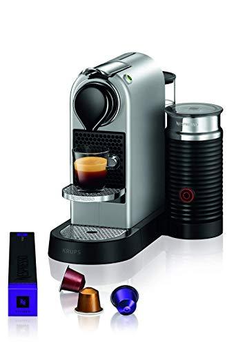 Krups XN761B Nespresso, machine à expresso, 1 tasse, argent