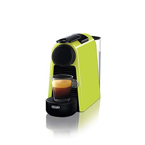 De 'Longhi EN 85.L Machines à café Essenza Mini Nespresso, 1370 W, 1 tasses, plastique, citron vert