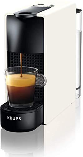 Machine à café Krups YY2912FD Machine à expresso sur pied Noir, Blanc 0,6 L 1 tasses Automatique