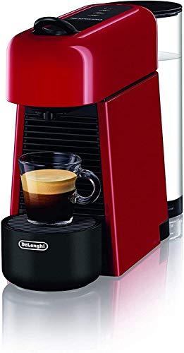Machine à café De'Longhi EN200.R avec système de capsules Nespresso, plastique, rouge