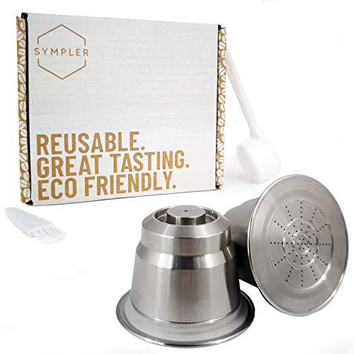 Capsules rechargeables Nespresso pour des moments café durables - Capsules rechargeables Nespresso