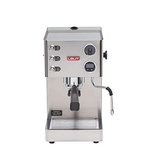 Machine à expresso semi-professionnelle Lelit PL81T Grace, acier inoxydable, argent