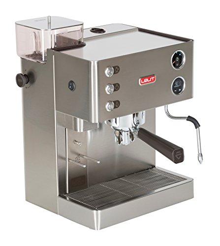 Machine à expresso Lelit PL82T avec moulin, 1200 W, 0,35 kg, acier inoxydable, argent