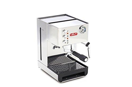 Lelit PL41EM Anna, Machine à café semi-professionnelle, 1050 W, 2,7 litres, acier inoxydable, argent