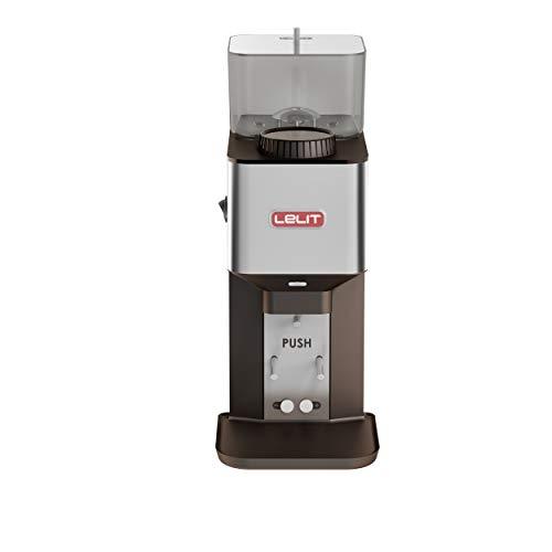 Moulin à café Lelit PL71 William avec dosage automatique, 270 W, 0,35 kg, acier inoxydable, argent