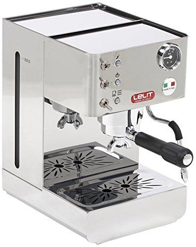 Machine à expresso semi-professionnelle Anna Lelit PL41LEM, 1050 W, acier inoxydable, argent