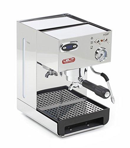 Lelit PL41TEM Anna, Machine à café semi-professionnelle avec PID, 1000 W, Acier inoxydable, Argent