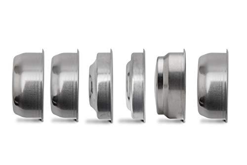 Lelit PLA170S Ensemble de filtres LELIT57, acier inoxydable, argent, différentes tailles