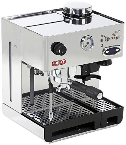 Lelit PL042TEMD Machine à expresso semi-professionnelle Anita, 1200 W, acier inoxydable, argent