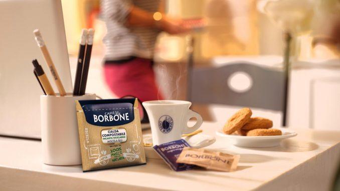 Désormais, la dosette Caffè Borbone est véritablement 100% amie de la nature à partir d'aujourd'hui avec l'emballage en papier pour un café bon pour la planète