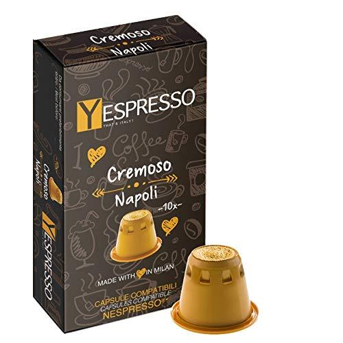 Compatible Yespresso NESPRESSO, Napoli crémeux - 200 capsules