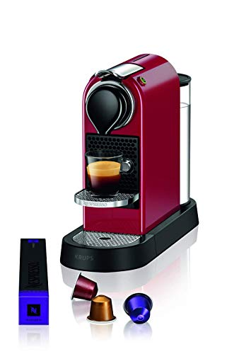 Machine à expresso Nespresso XN7415 Citiz Krups, 1260 W, 1 litre, rouge