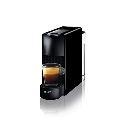 Krups XN1108 Mini machine à café Nespresso Essenza, 1260 watts, 0,6 L, noir