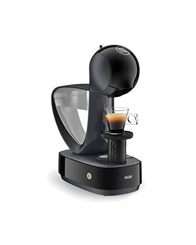 De'Longhi EDG160.A Nescafé Dolce Gusto Infinissima Machine à expresso et autres boissons, 1470 W, 1,2 litre, bac d'égouttement en plastique thermobloc en aluminium, noir
