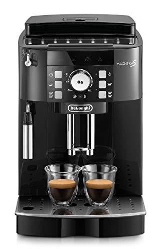 De Longhi Magnifica S ECAM21.110.B Machine à café automatique pour expresso et cappuccino, café en grains ou en poudre, 1450 W, noir