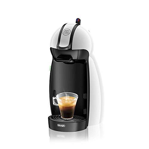 De Longhi EDG100.W Piccolo - Macchina per caffè Espresso e Altre Bevande in Capsula Nescafe Dolce Gusto, 1460 W, 15 bar, Plastica, Bianco