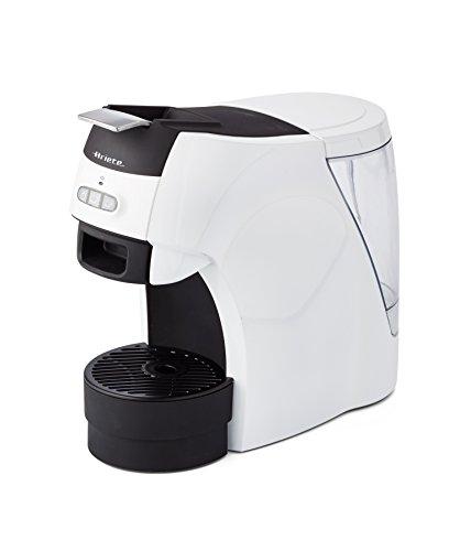 Ariete 1301, machine à expresso compatible avec les dosettes de poudre biodégradables et moulues ESE, café long ou court, grille réglable pour grandes et petites tasses, mise hors tension automatique, 1100 watts