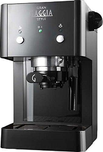 Machine à café expresso manuelle Gaggia GranGaggia Style noir, pour café moulu et dosettes, 15 bars, couleur noire, RI8423 11