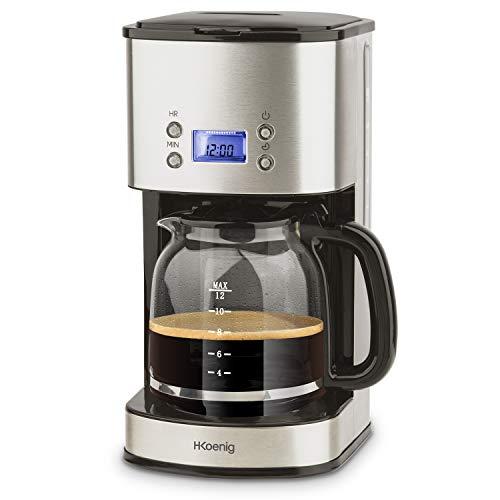 Machine à café américaine H.Koenig Mg30, plastique, acier inoxydable, acier inoxydable