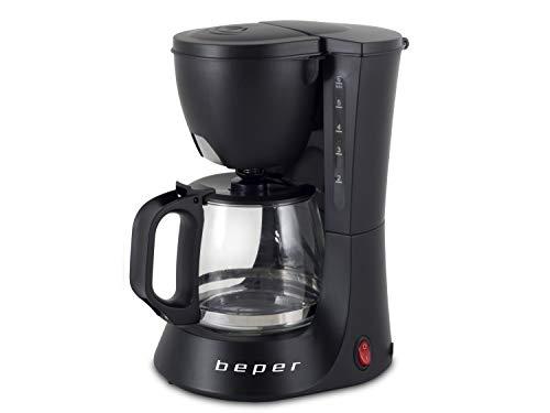 Machine à café américaine BEPER BC.060 600ml, W, 600 millilitres, ABS, noir