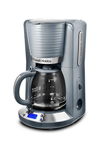 Machine à café américaine Russell Hobbs Inspire 24393-56, 1100 W, 1,25 litre, chrome, gris