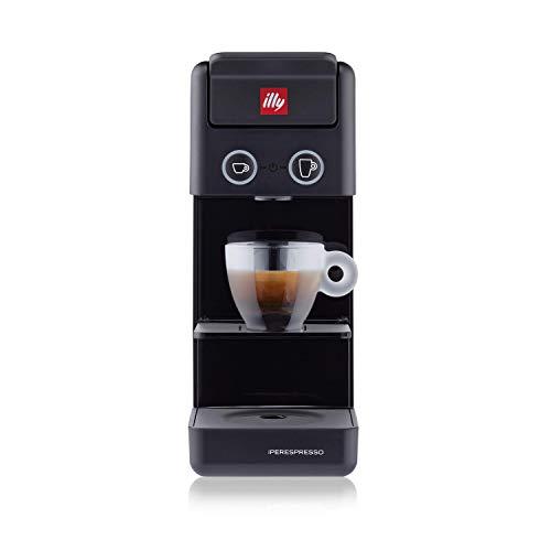 illy Caffè, Macchina da Caffè a Capsule Iperespresso Y3.3 Nera