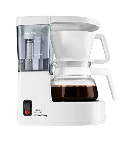 Melitta Aromaboy Libera installazione Macchina da caffè con filtro 2tazze Bianco
