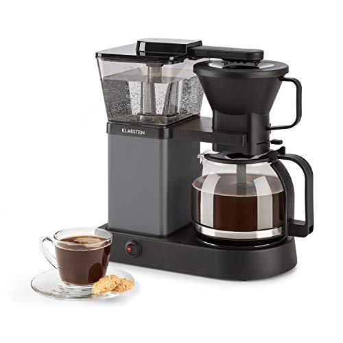 Klarstein GrandeGusto - Macchina per Caffè Americano, 1690 Watt, Serbatoio d Acqua da 1,3 litri, Fino a 10 Tazze, Funzione Riscaldamento, Nero