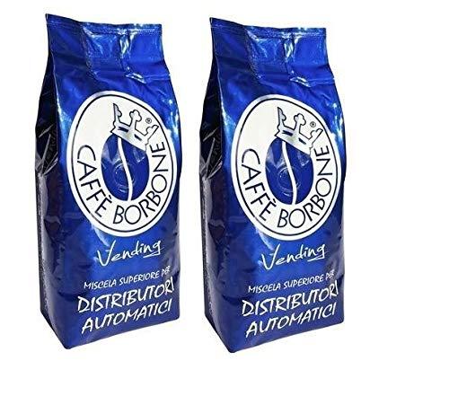 Lot de 6 sacs de 1 kg de Borbone de café en grains Blue Blend Original Vending