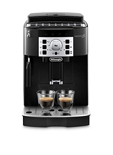 De Longhi Magnifica S ECAM22.110.B Machine à café automatique pour expresso et cappuccino, grains de café ou poudre, 1450 W, noir (exclusivité Amazon)