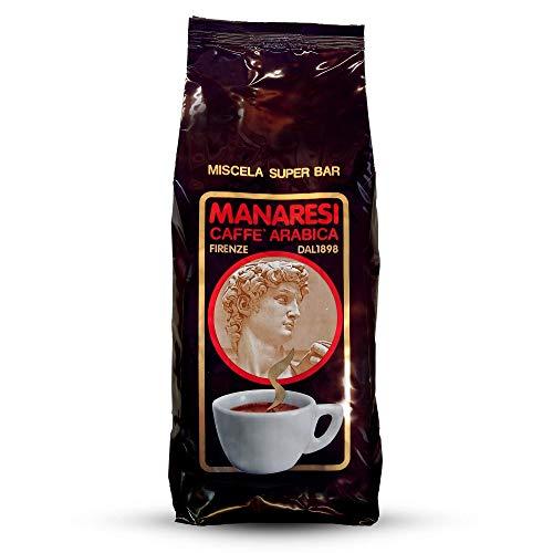 Grains de Café Manaresi Coffee Super Bar (Marron) - 3 Kg