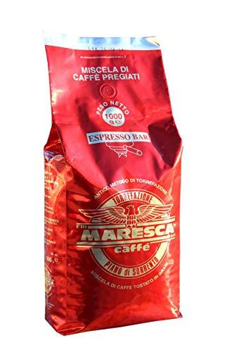Caffe Maresca: le goût de la différence. Mélange Crema & Gusto. Paquet de 1 kg de grains de café torréfiés