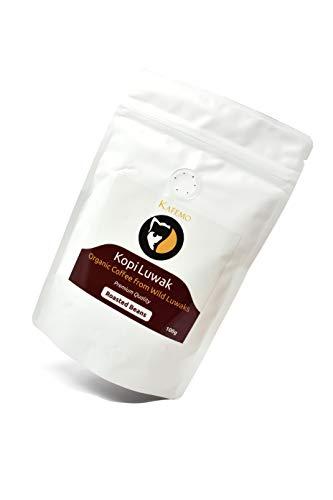 Kopi Luwak Premium (Wild Luwak Coffee) - Grains de café - Le café le plus rare au monde -