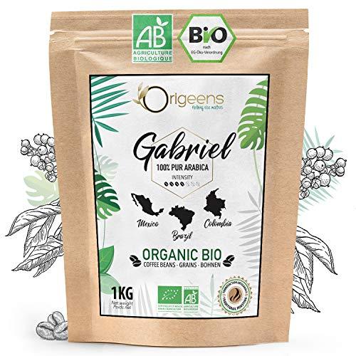 ️ CAFFE in GRANI BIO 1kg | Grani di Caffè Biologici Arabica | Torrefazione Artigianale | Gabriel