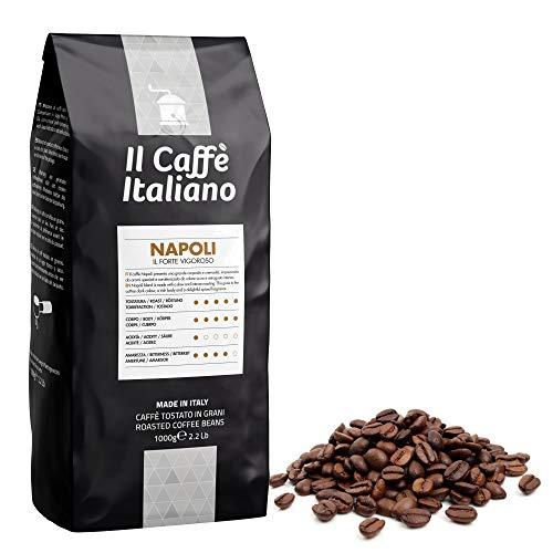 Il Caffè Italiano - Caffè in grani da 1 Kg - Miscela Napoli Intensità 12 - Frhome